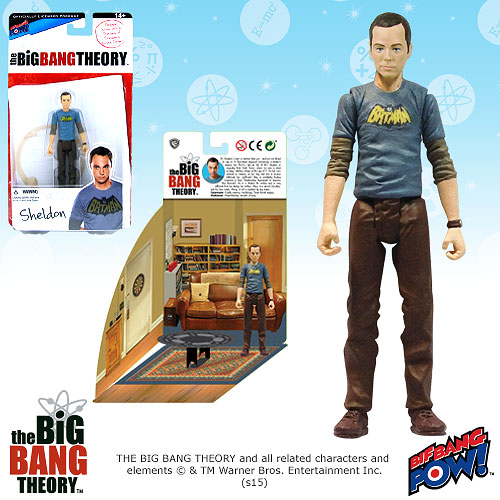 Big Bang Theory Sheldon Batman 3 3/4-Inch Figure